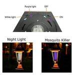 Teepao Bug solaire Zapper, Solar Mosquito Zapper extérieur/intérieur volant Insectes tueur Lumière Portable sans fil pelouse de jardin pour usage résidentiel, commercial et industriel de la marque Teepao image 4 produit