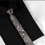 TIE JILAN HOME Cravate Hommes Cravate Mode Rétro Mode Occasionnel Soie Groom Noeud Cravate Boxed Coréen 6cm Narrow nicktie (Couleur : C) de la marque TIE image 1 produit