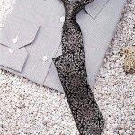 TIE JILAN HOME Cravate Hommes Cravate Mode Rétro Mode Occasionnel Soie Groom Noeud Cravate Boxed Coréen 6cm Narrow nicktie (Couleur : C) de la marque TIE image 2 produit