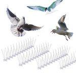 Tifanti - Accessoire anti-oiseaux en acier inoxydable - Tient les oiseaux, les pigeons, les mouettes à l'écart - lot de 10 de la marque TIFANTI image 1 produit