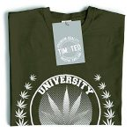 Tim and Ted Université de Blunts Ents Arbres Stoner 420 Imprimé Conception T-Shirt pour Hommes de la marque Tim and Ted image 2 produit