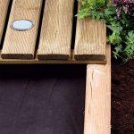 Tissu de lutte contre les mauvaises herbes 50gm 1.5m x 8m noir de la marque Parkland image 1 produit