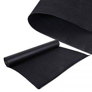 Toile anti-mauvaise herbe Tissu Intissé anti-racines 40 x 1,5m Bloque racines 150 g/m² noir de la marque WilTec image 0 produit