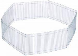 Trixie Enclos Galvanisé 6 Éléments 48 × 25 cm pour hamsters, souris et autres rongeurs de la marque Trixie image 0 produit