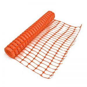 True Products B1003C 4kg 1m x 50m Standard Plastique en maille filet de sécurité Barrière Clôture Rouleau–Orange (1pièce) de la marque True Products image 0 produit