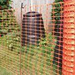 True Products B1003C 4kg 1m x 50m Standard Plastique en maille filet de sécurité Barrière Clôture Rouleau–Orange (1pièce) de la marque True Products image 2 produit
