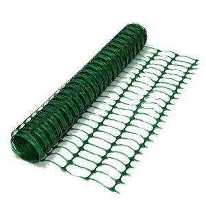 True Products–Filet B1001A en maille plastique pour clôtures, treillis, protection, rouleau de 50m, 5,5kg, vert de la marque True Products image 0 produit