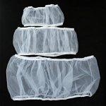 UEETEK Housse Cage Oiseaux Jupe Protection Cage Oiseaux Attrape Graine de Maille Blanc Taille M de la marque UEETEK image 4 produit