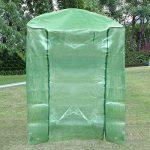 Usine de PVC à effet de serre Housse de jardin d'hiver Cover Walk-in Greenhouse remplacement pour l'hiver (juste couvrir) de la marque LEISURE TIME image 2 produit