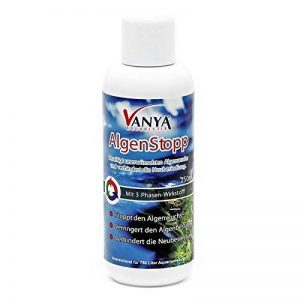 Vanya AlgenStopp 250ml Éliminie prolifération algues Anti- algues Algicide de la marque WilTec image 0 produit