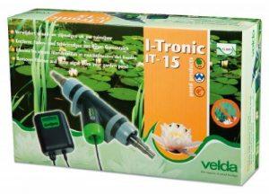 Velda 126656Dissolvant électronique contre les algues fils de et muqueuses par Max. 15000l, T bassin de cuivre ions, Flow Tronic 15 de la marque VELDA image 0 produit