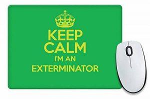Vert Keep Calm I'm un Exterminateur Tapis de souris Couleur 3273 de la marque Duke Gifts image 0 produit