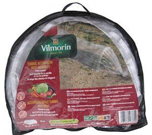Vilmorin VA04116 Serre-Tunnel Film Accordéon Anti-Insectes Polyéthylène 80 mm 65 x 45 x 400 cm de la marque Vilmorin image 0 produit