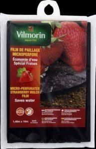 Vilmorin VB04106 Film de Paillage pour Fraises Micro Perforé Polyéthylène 50 mm 1,40 x 10 m de la marque Vilmorin image 0 produit
