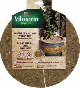 Vilmorin VH06088 Disque de Paillage Végétaux Chanvre/Jute 1000 g/m² 30 cm de la marque Vilmorin image 0 produit
