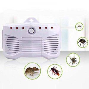 Voiture Ultrasons Pest Répulsif, Smart Electronic insectes Répulsif Rat Mouse Control pour rongeurs insectes moustiques puces cafards fourmis araignées souris de la marque Beimaji Trade image 0 produit