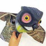 WARKHOME Hibou Anti Pigeons Hibou Anti Oiseaux Épouvantail Décoratif Épouvantail Chouette - Effraie les Oiseaux, Rongeurs, Eloigne Nuisibles de la marque WARKHOME image 3 produit