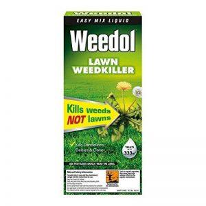 Weedol désherbant pour gazon/pelouse facile Mélange liquide 500ml par Scotts de la marque Weedol image 0 produit
