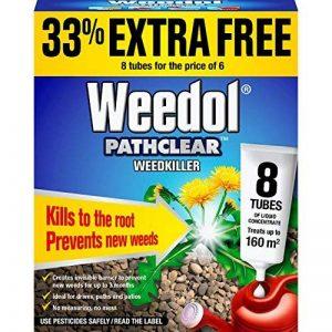 Weedol Pathclear Désherbant Liquide Concentré, 6+ 2Tubes Tubes 6 Tubes + 2 Free Others de la marque Weedol image 0 produit