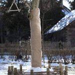 Windhager Tissu non-tissé pour jardin de toile de jute Tapis de protection d'hiver froid Protection antigel, idéal aussi pour décorer, 0,91x 4m, marron, 06585 de la marque Windhager image 2 produit