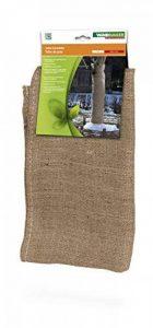 Windhager Tissu non-tissé pour jardin de toile de jute Tapis de protection d'hiver froid Protection antigel, idéal aussi pour décorer, 0,91x 4m, marron, 06585 de la marque Windhager image 0 produit