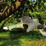 WOOPOWER Flying Hawk Leurre Bird DISSUASION, décoration de jardin Flying Hawk Faux Faux Leurre de chasse d'oiseaux, Corsé Antiparasitaire Jardin Cat and Bird Répulsif de la marque WOOPOWER image 2 produit