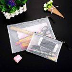 YOTINO 12 pochettes pour documents, souples, extra solides, imperméables, poches zippées, sac en filet, pour formats de papier DIN B4, A4, B5, A5, B6, A6 de la marque YOTINO image 3 produit