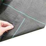 Yuzet 09–001005–00–252x 25m/100g Membrane Paysage Tissu Heavy Duty anti-mauvaises herbes Coque de la marque Yuzet image 2 produit